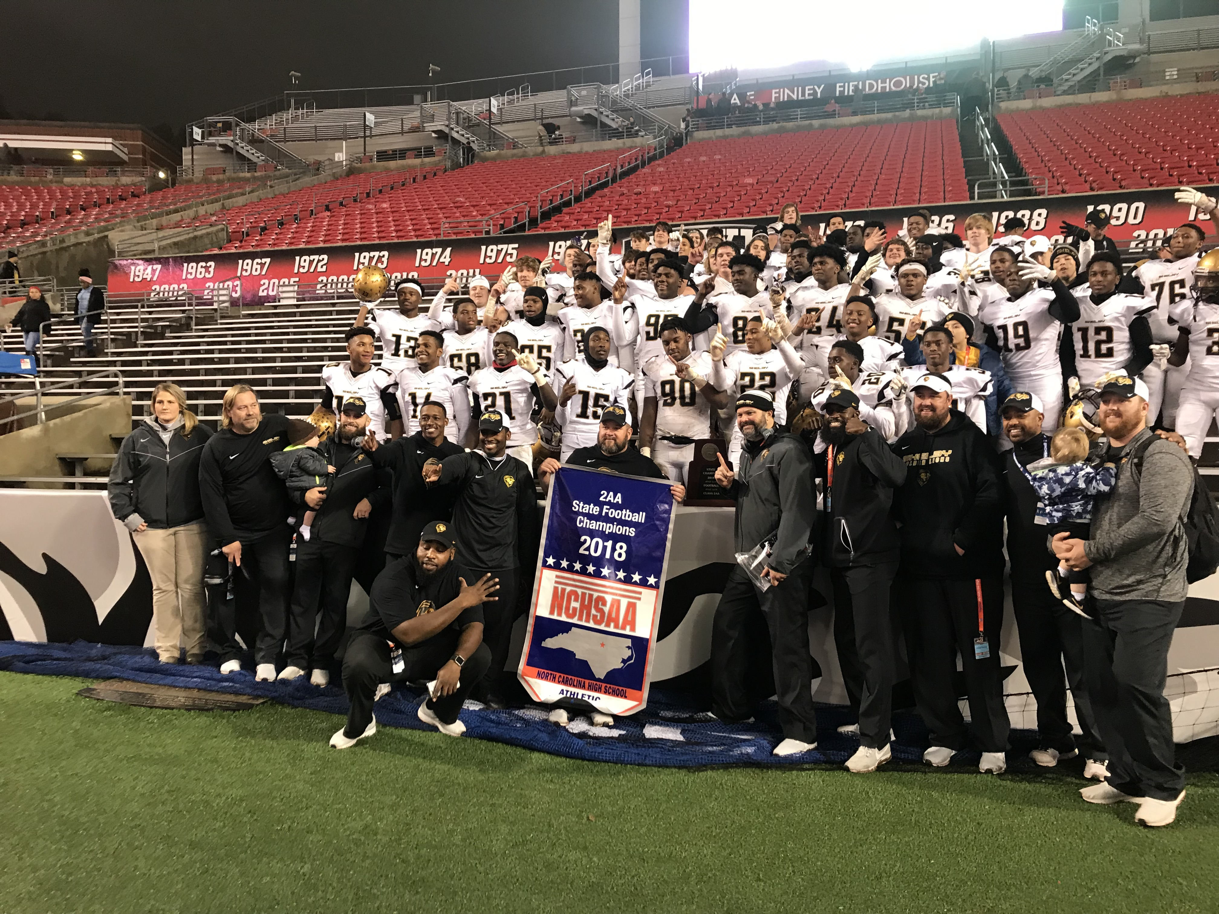 Hs Football State Championships Shelby Scores 42 Points In 2aa
